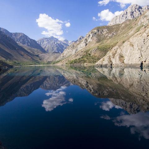 Einer der sieben Seen, Tadschikistan