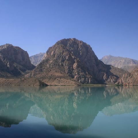 Bergsee in Tadschikistan, Tadschikistan