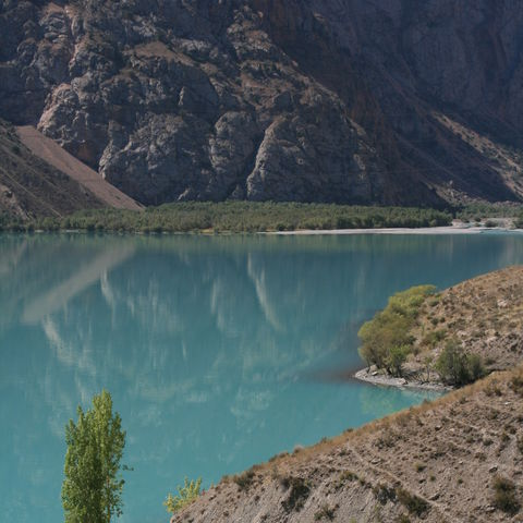 Türkiser Bergsee, Tadschikistan