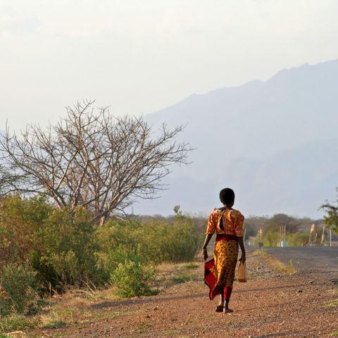 Afrikanische Frau, Tansania