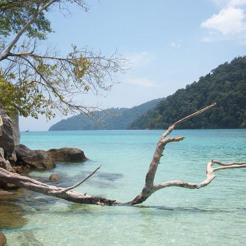 Strand in der Andaman-See, Thailand