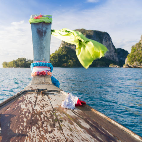 Segelausflug im Golf von Thailand, Thailand
