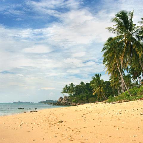 Ein Strand auf Koh Lanta, Thailand