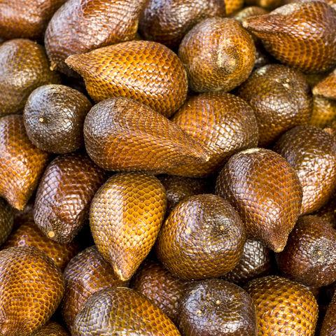 Salak Frucht, auch Schlangenfrucht genannt, Thailand