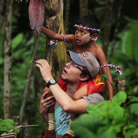 Gemeinsam den Dschungel erkunden, Thailand