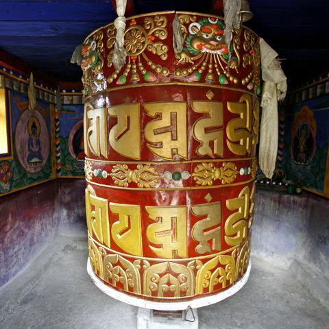 Einmal drehen bitte: Gebetsmühle, Tibet