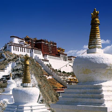 Potala Palast in Lhasa, der Hauptstadt, Tibet