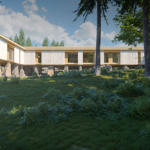Ayurveda Gebäude @ NEUE WEGE #TITEL 1: Genießen Sie Ihre Ayurveda Anwendungen in diesem Gebäude #TITEL 2: Spirituelle Bauweise, Ayurveda