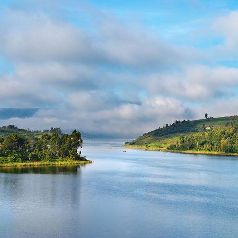 Ugandas Inselwelt: Lake Bunyonyi, Uganda