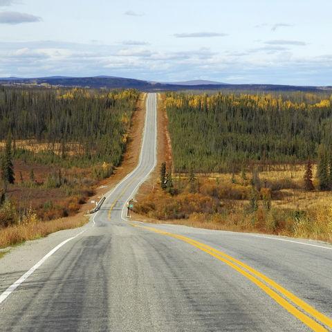Highway durch die Wildnis, Alaska