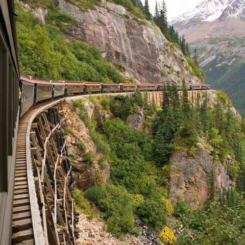 White Pass und Yukon Railroad, Alaska