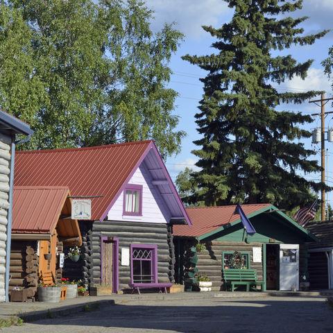 Historisches Goldgräberhaus, Alaska