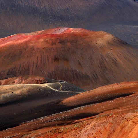 Haleakala-Vulkan auf Maui, Hawaii