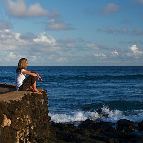 Aussicht auf den Pazifik, Hawaii