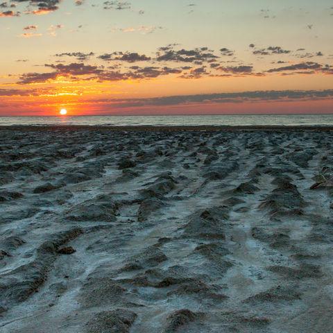 Lehmstrand am Aralsee, Usbekistan