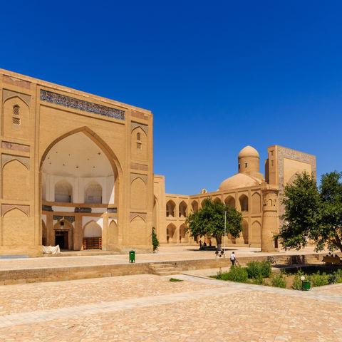 Nekropole Chor Bakr in Buchara, Usbekistan