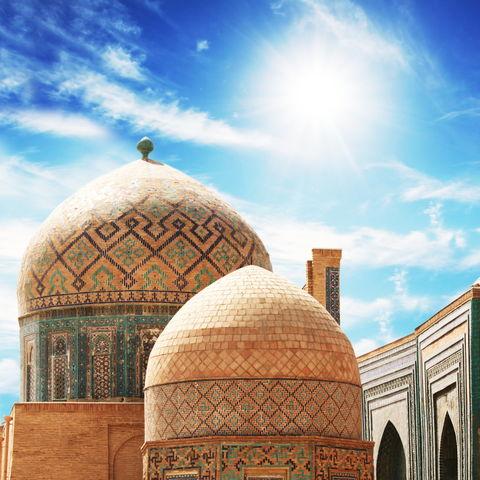 Palast in Buchara, Usbekistan