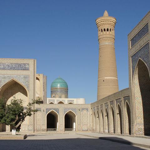 Moschee in Bukhara, Usbekistan