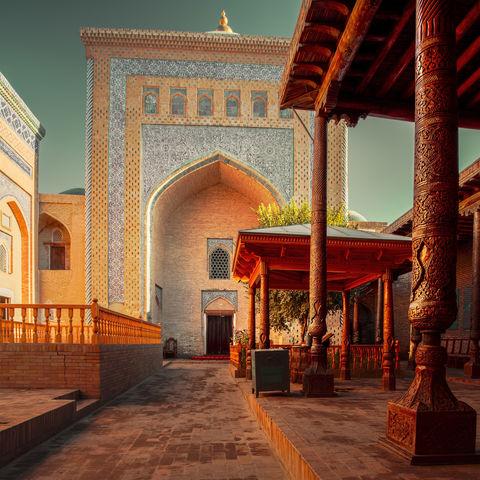 Moschee im alten Stadtkern Chiwas: Itschan Kale, Usbekistan