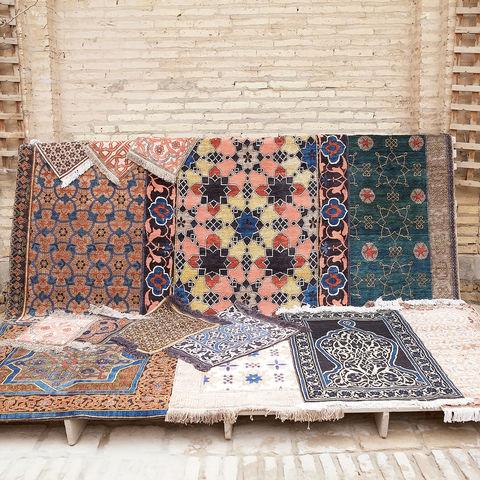 Teppichwerkstatt in Itschan Kale, Chiwa, Usbekistan