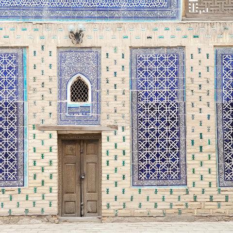 Tash-Khauli-Palast in Chiwa, Usbekistan