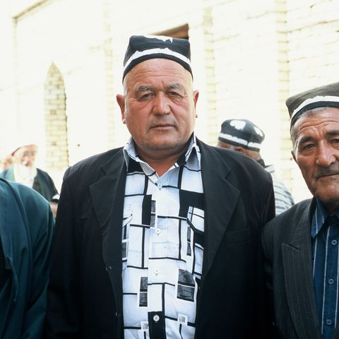 Drei Männer im Alltag, Usbekistan