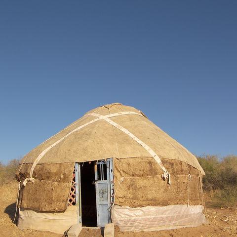 Jurte in Usbekistan, Usbekistan