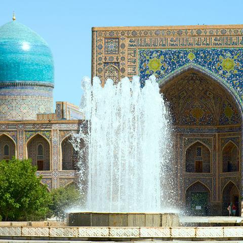 Alter, muslimischer Architekturkompelx, Usbekistan