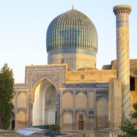Mausoleum von Emir Timur in Samarkand, Usbekistan