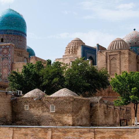 Totenstadt Schah-e-Sinde, Usbekistan