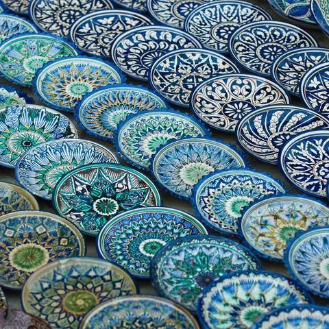 Traditionelle Keramikkunst, Usbekistan