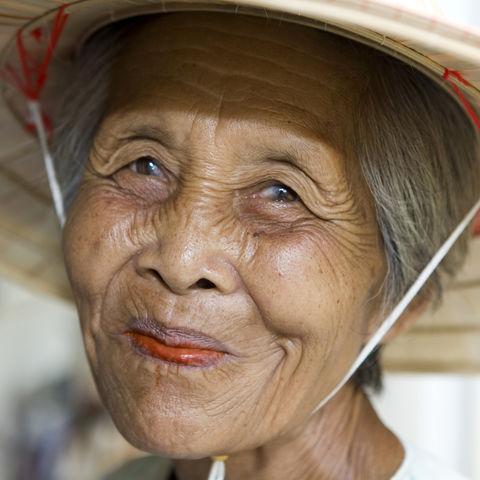 Vietnamesische Dame, Vietnam