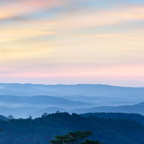 Bergpanorama, Vietnam