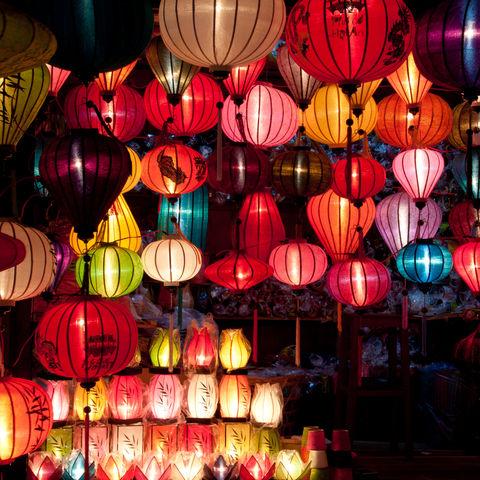 Bunte Lampions, Vietnam