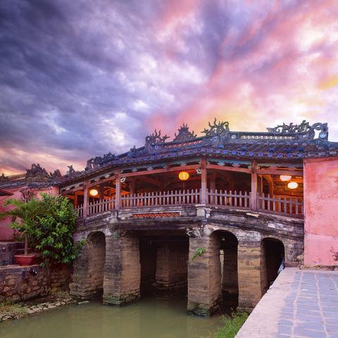 Japanische Brücke in Hoi An, Vietnam
