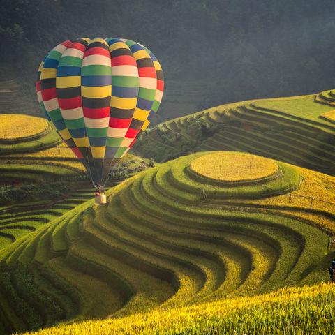 Die wahrscheinlich schönsten Reisterrassen des Landes: Mu Cang Chai, Vietnam