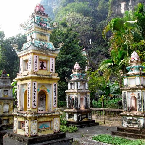 Ruinen der Cham-Kultur in der Tempelstadt My Son, Vietnam