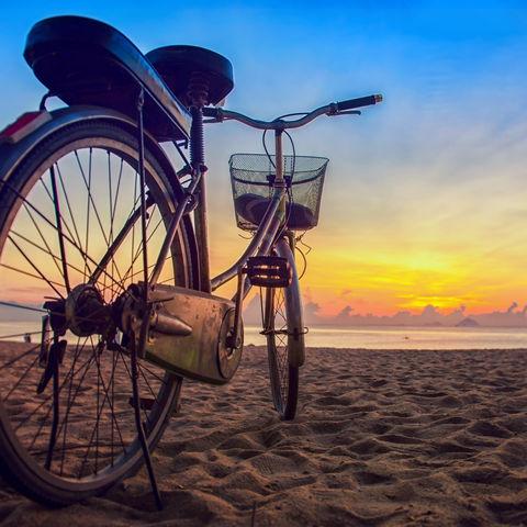 Mit dem Fahrrad zum Strand: Nha Trang, Vietnam