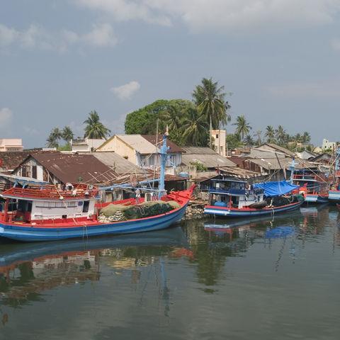 Fischerhafen von Phu Quoc, Vietnam