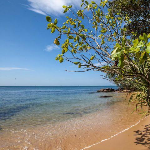 Privater Strandabschnitt des Resort, Vietnam