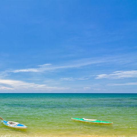 Wunderschönes Wasser bei Phu Quoc, Vietnam