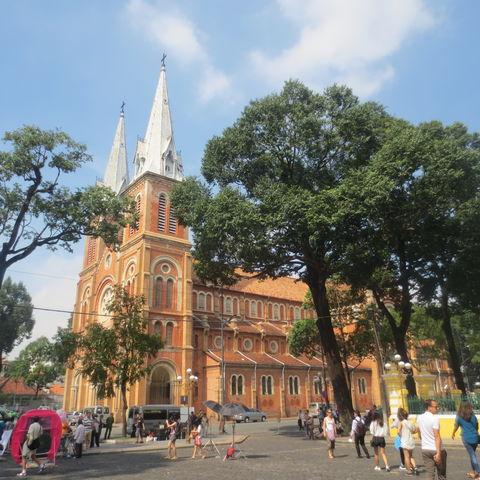 Die Kathedrale Notre Dame, Vietnam