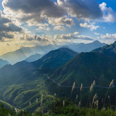 Berglanschaft von Sapa, Vietnam