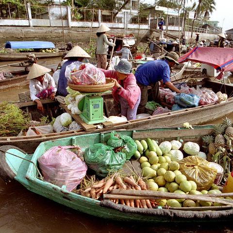 Schwimmender Markt, Vietnam
