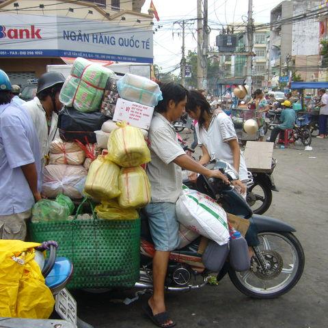 Transport per Moped, Vietnam