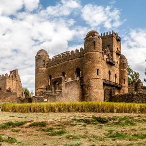 Altes Fasilidas-Schloss in Gondar © Milosk50, Dreamstime.com