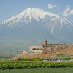 Blick auf den Berg Ararat © Thinkstock, iStockphoto