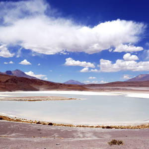Lagune in der Altiplano Hochebene © Thinkstock, iStockphoto