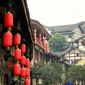 Altstadt in Chongqing © Beijing Hetuchuangyi Images Co. Ltd., Dreamstime.com