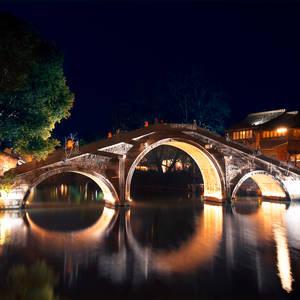 Historische Steinbrücke in Wuzhen © Druglee, Dreamstime.com